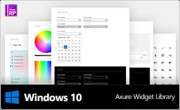 Windows 10 Widget Library